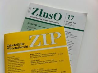 Zeitschrift für Wirtschaftsrecht ZIP 2012 RA Schörnig