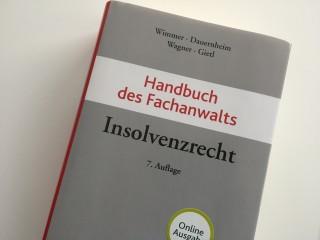 Handbuch des Fachanwalts Insolvenzrecht - Rechtsanwalt Uwe Schörnig Köln